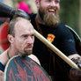 Forberedelser til Vikingemarkedet i Moesgård